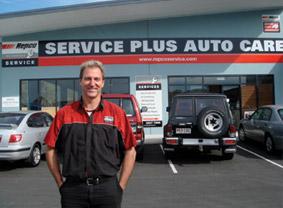 Sevice Plus Auto Care shop front