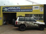 Jonlin Automotive Engineers shop front