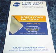 North Coast Radiators pamplet