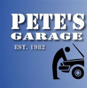 Pete's Garage logo