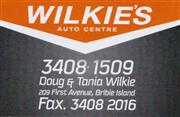Wilkies Auto Centre logo