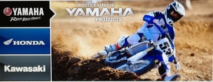 Yamaha, Honda & Kawaski logos