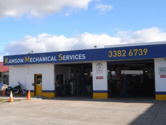 Kamsom Mechanical Services shop front
