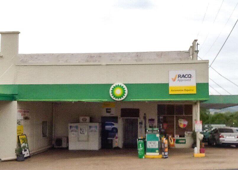 BP shop front