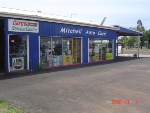 Mitchell Auto Care shop front