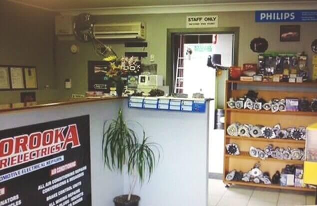 Moorooka Car Electrics interior of shop