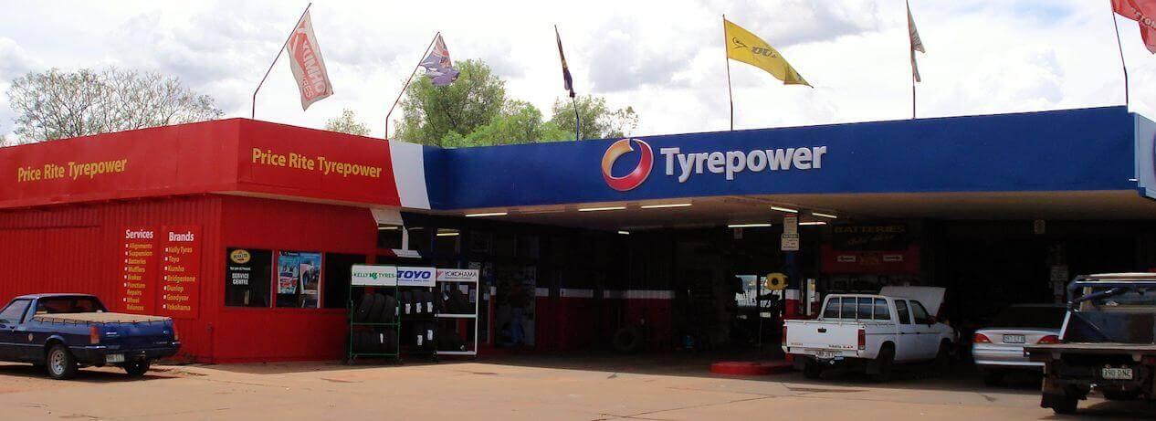 Price Rite Tyrepower shop front