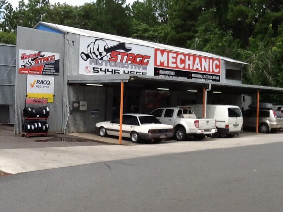 Stagg Automotive shop front