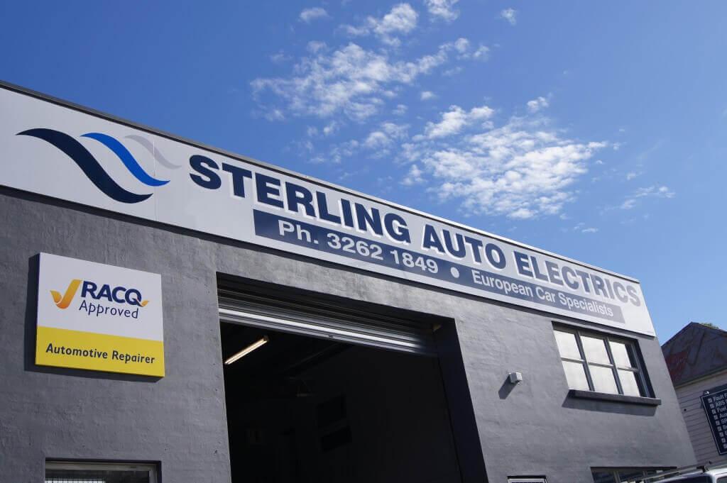 Sterling Auto Electrics shop front
