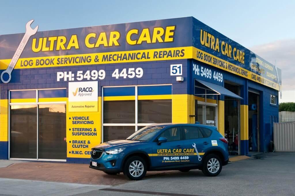 Ultra Car Care shop front