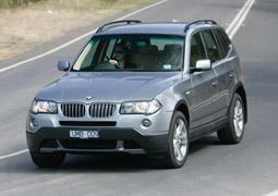 BMW X3 2.5si 2007