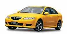 Mazda 6 2.3 litre 2002 onwards