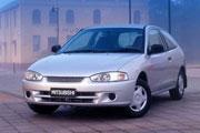 Mitsubishi Mirage 1996-2004