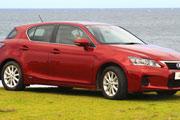 Australia's Best Cars Best Small Car over $35,000 Lexus CT200H Prestige