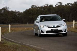 Australia's Best Cars Best Medium Car under $50,000 Toyota Camry Hybrid H