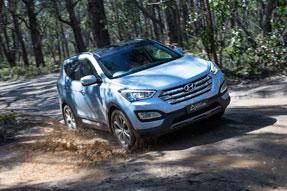 Australia's Best Cars Best SUV $45,000 - $65,000 Hyundai Santa Fe Highlander AWD