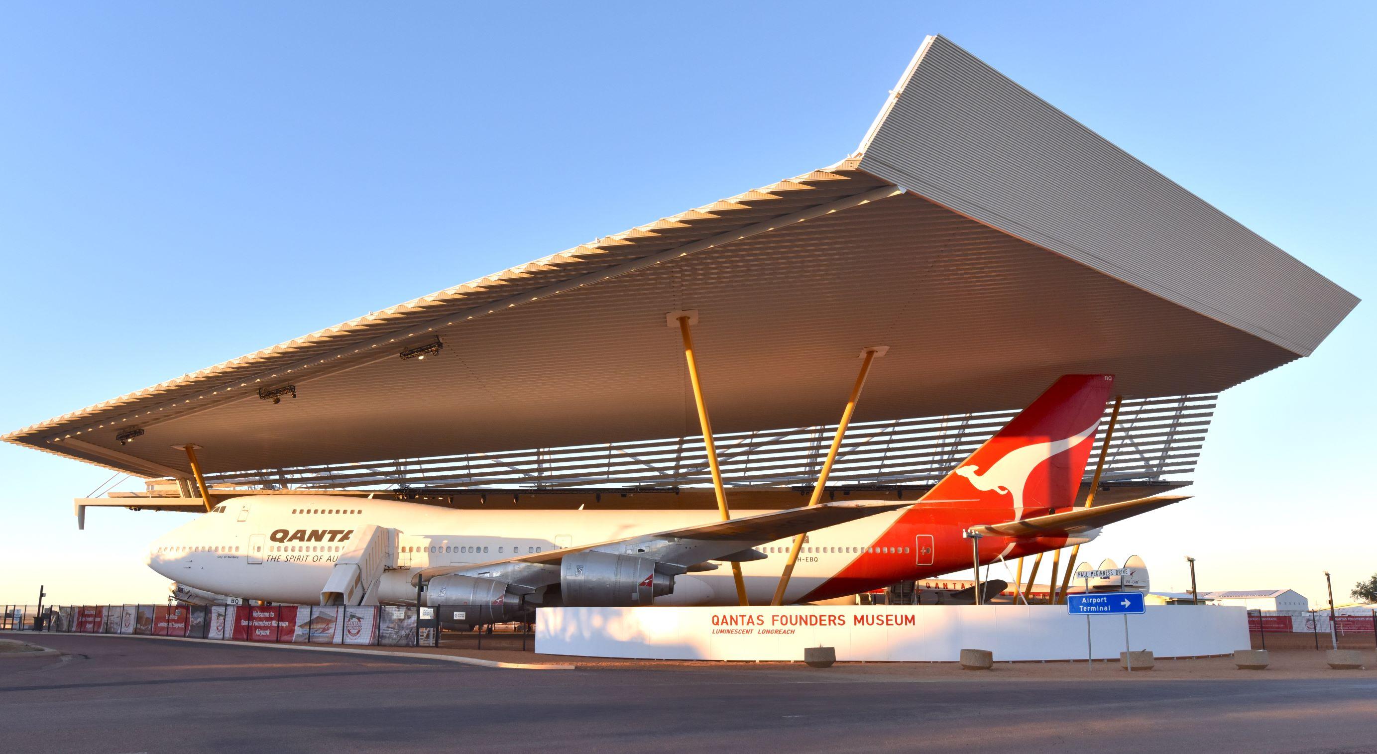 Qantas Founders Outback Museum