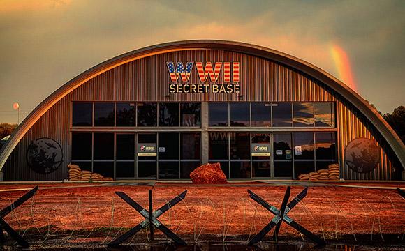 WWII Secret Base & Tour