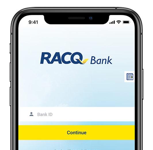 Iphone RACQ Internet banking