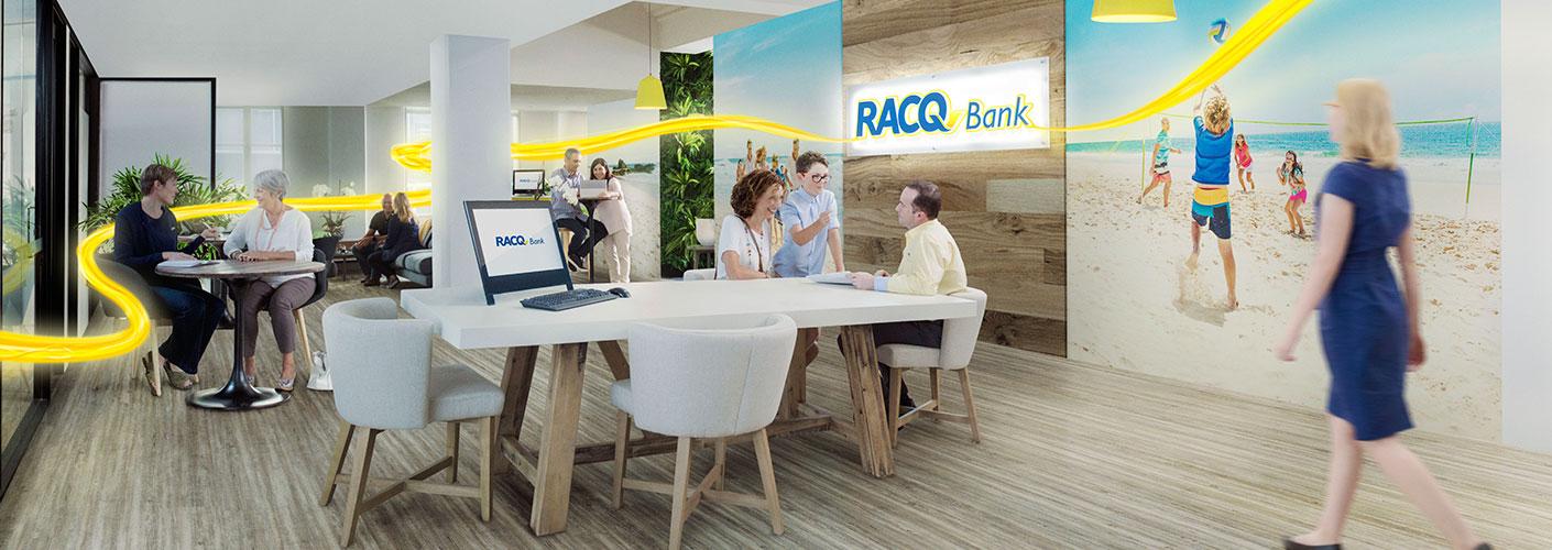 new banking branch interior