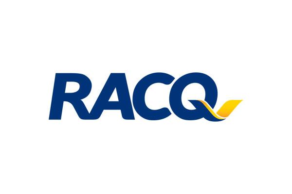 RACQ logo on white