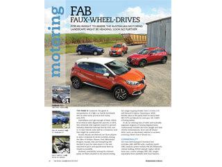 Holden Trax, Honda HRV VTI, Mazda CX-3, Renault Captur Dynamique car comparison