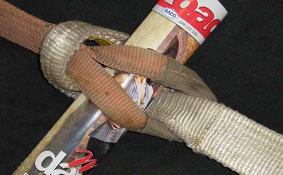 Vehicle recovery strap snatch strap