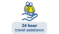 24 hour travel assistance