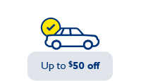 Up to $50 off
