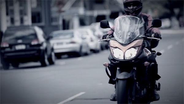 Mick Doohan sharing the road video