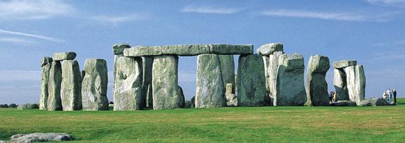 Panorama of Stonehenge, Wiltshire, England