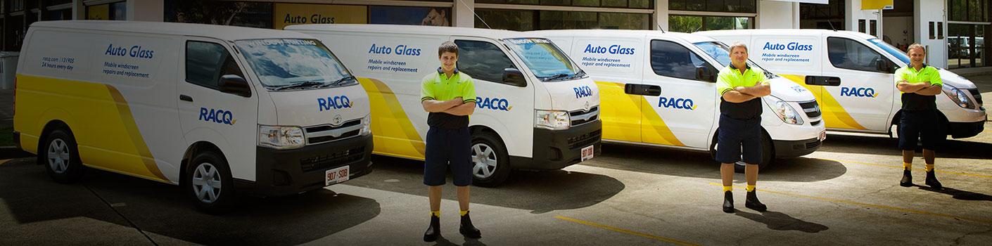 RACQ Auto Glass staff