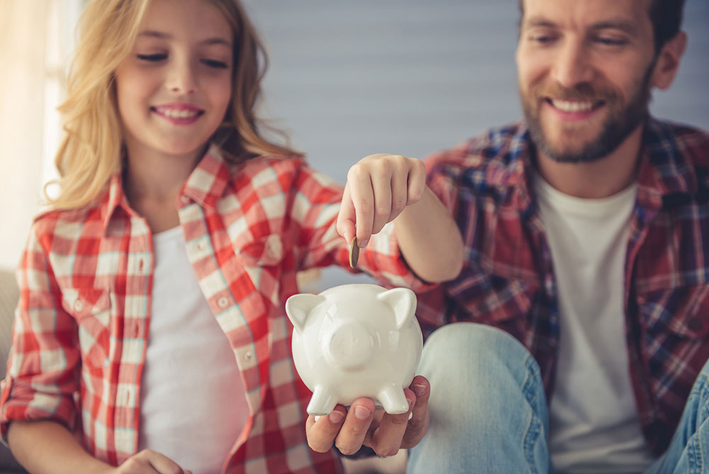 How to teach your kids to care about money
