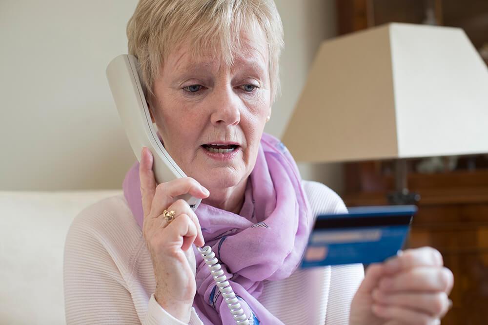 Seniors scam alert