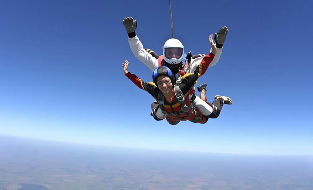 Skydiving in Queensland