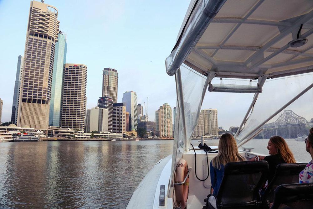 Sea a new side of Brisbane